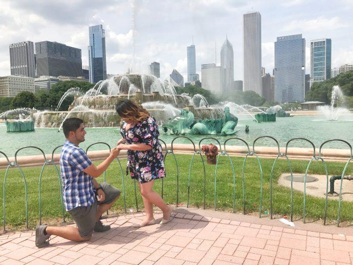 Esmeralda's Proposal in Chicago, IL