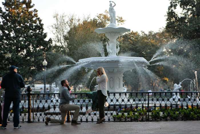 Marriage Proposal Ideas in Savannah, GA