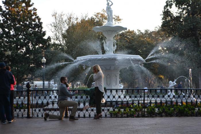 Where to Propose in Savannah, GA