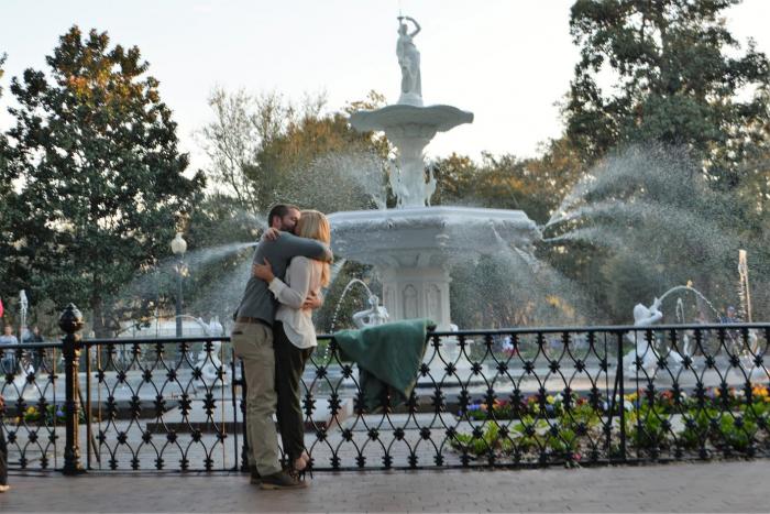 Karyn's Proposal in Savannah, GA