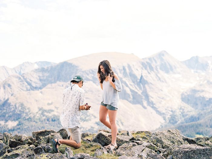 Wedding Proposal Ideas in Rocky Mountain National Park