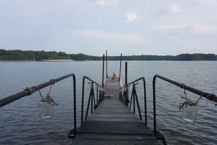 Where to Propose in Lake Lanier Sailing Club