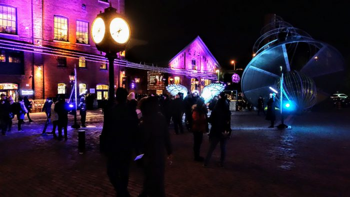 Where to Propose in Distillery District in Toronto, Ontario