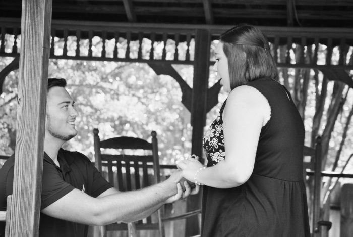 Where to Propose in Indian Springs Village Garden