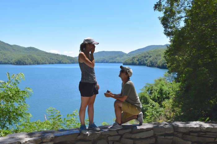 Where to Propose in Fontana Dam, North Carolina