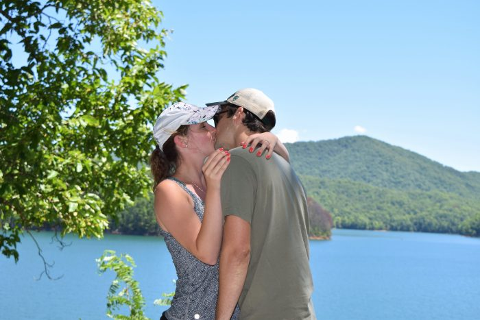Marriage Proposal Ideas in Fontana Dam, North Carolina