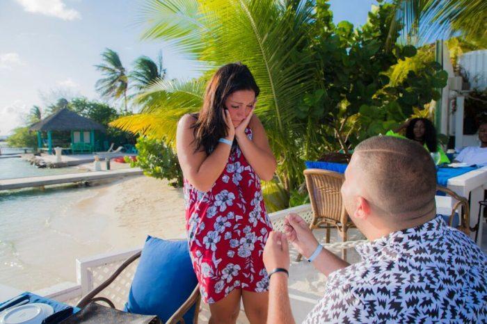 Marriage Proposal Ideas in THE FLYING FISH BONE, ARUBA