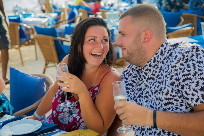 Where to Propose in THE FLYING FISH BONE, ARUBA