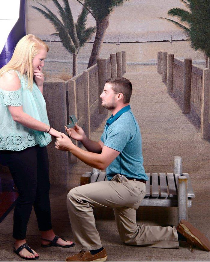 Marriage Proposal Ideas in Cruise ship