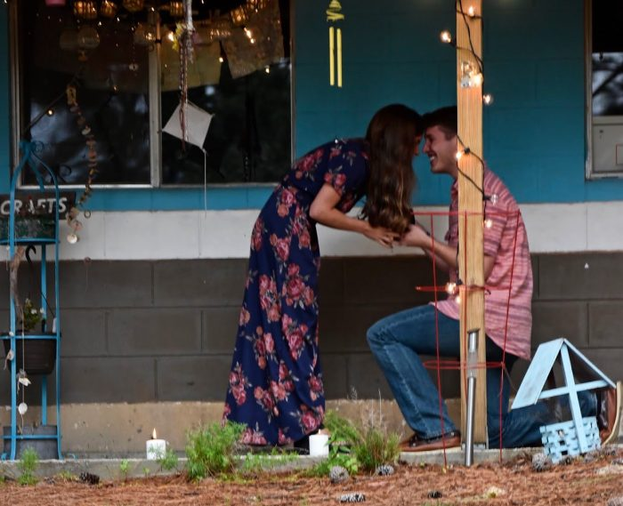Where to Propose in Mid-South Youth Camp in Henderson, TN