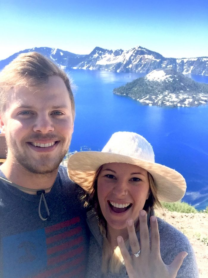 Engagement Proposal Ideas in Crater Lake National Park