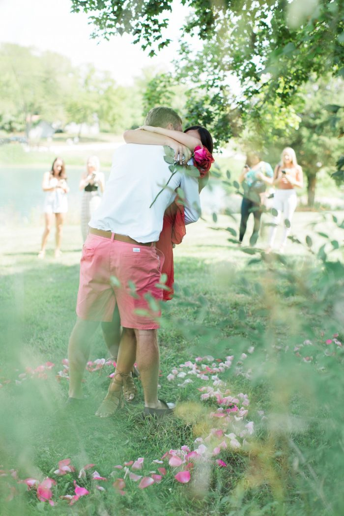 Wedding Proposal Ideas in Chandler Hill Winery, missour