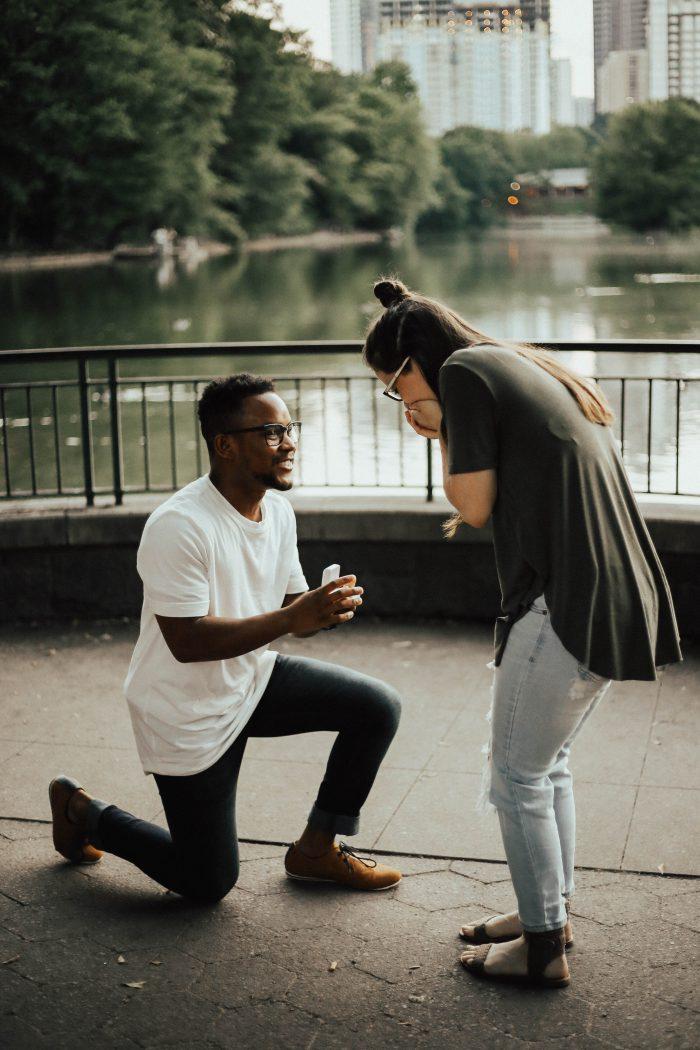 Wedding Proposal Ideas in Piedmont Park
