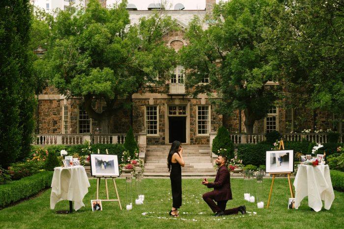 Engagement Proposal Ideas in Graydon Hall Manor