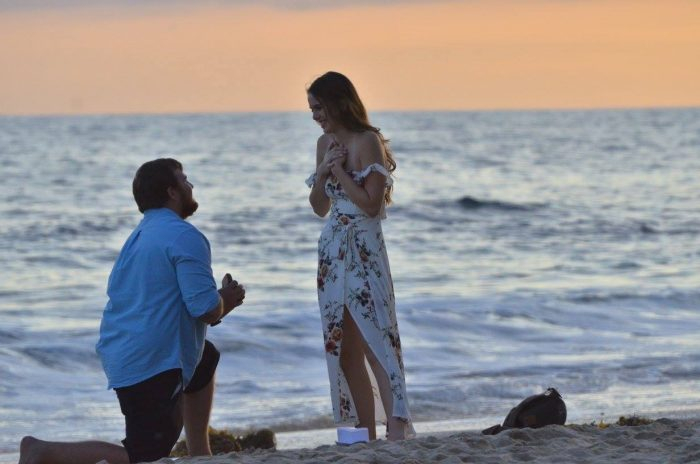 Kilee and Micah's Engagement in Crystal Cove, Laguna Beach