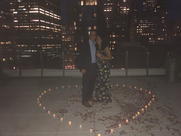 Amara's Proposal in New York City