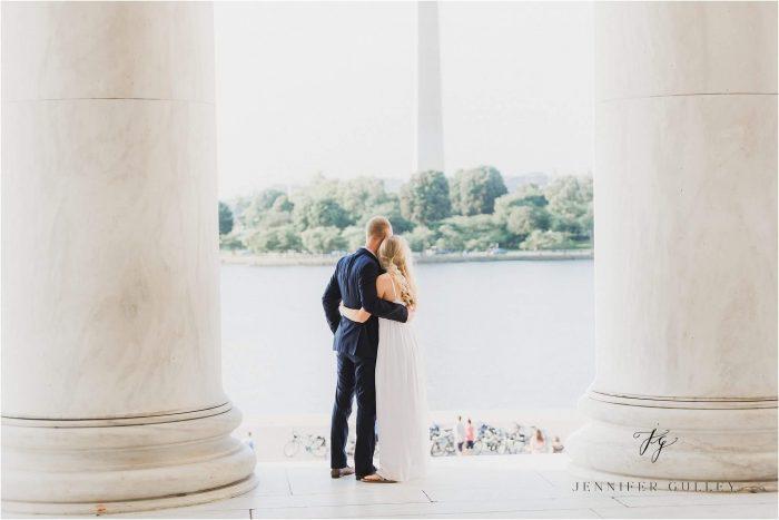 Wedding Proposal Ideas in Jefferson Memorial, Washington D.C.