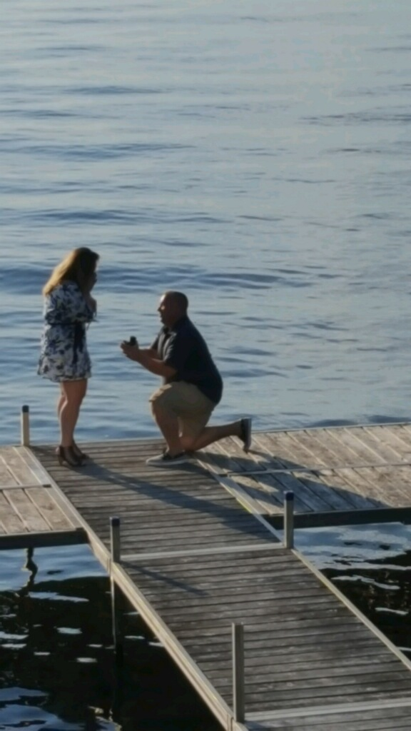 Stephene's Proposal in Saratoga