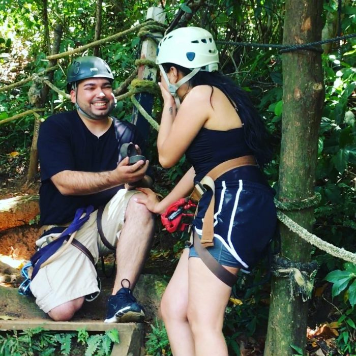 Marriage Proposal Ideas in Roatan, Honduras