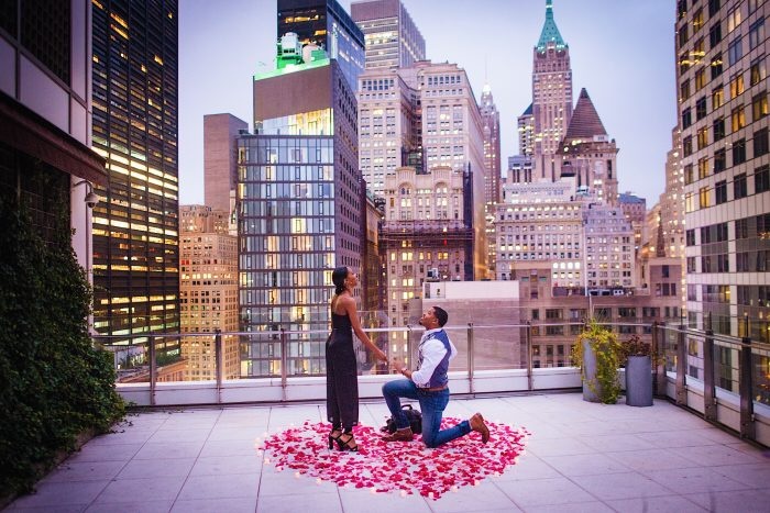 Meghan's Proposal in New York City