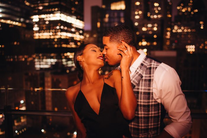 Meghan and Desmond's Engagement in New York City