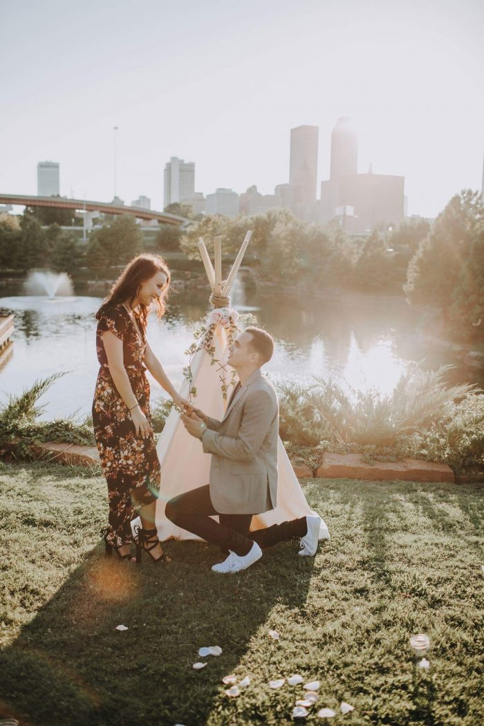 Where to Propose in Centennial Park and the Admiral Drive-In