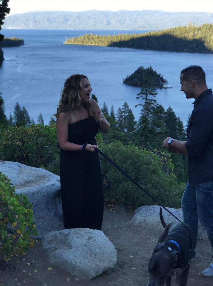 Marriage Proposal Ideas in Emerald Bay - South Lake Tahoe, Ca