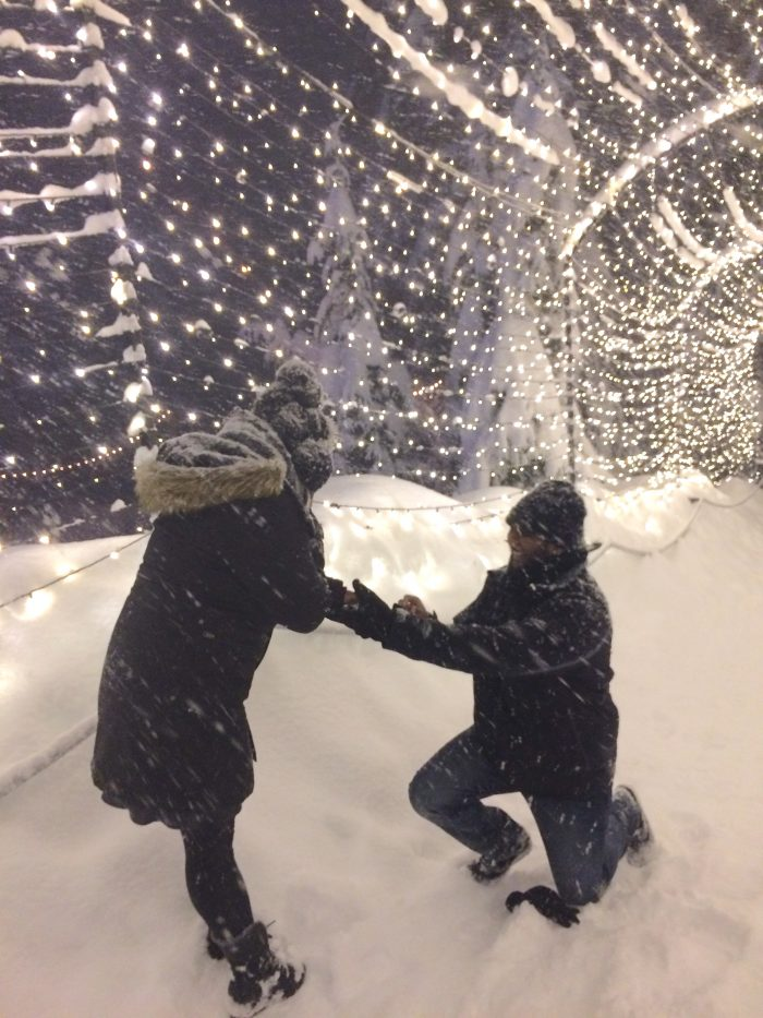 Engagement Proposal Ideas in GRouse mountain