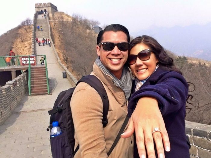 Where to Propose in The Great Wall of China