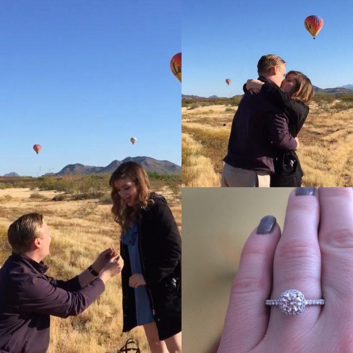 Lindsay's Proposal in Phoenix, Arizona