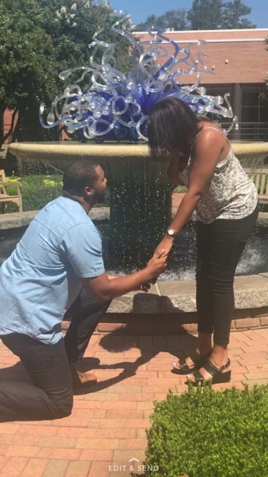 Marriage Proposal Ideas in Atlanta Botanical Gardens