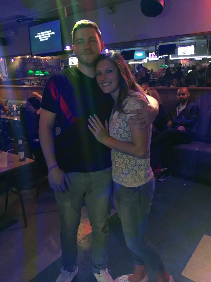 Stephanie's Proposal in Karaoke bar