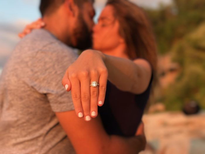 Where to Propose in Hortons lighthouse beach in Long Island