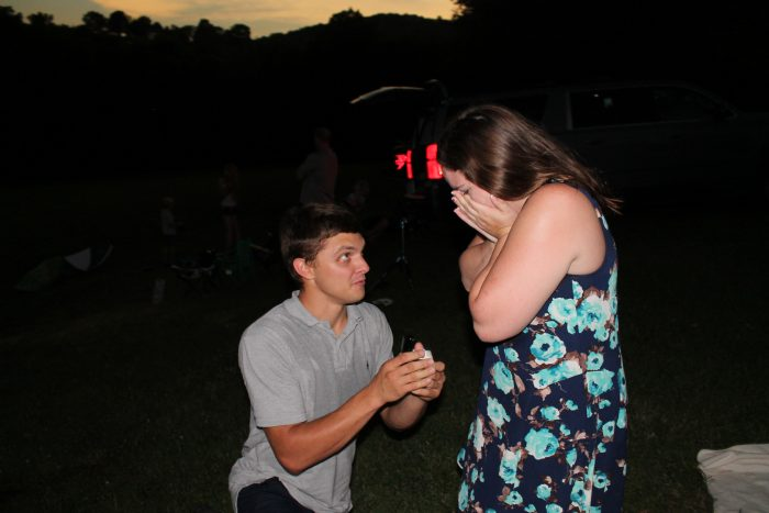 Engagement Proposal Ideas in Stone Hill Winery