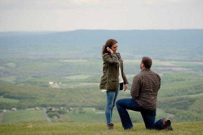 Megan's Proposal in Allegheny Front Hawk Watch, Schellsburg, PA