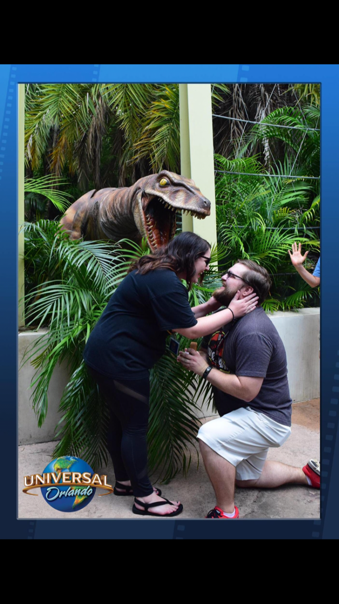 Heather's Proposal in Universal Studios Orlando