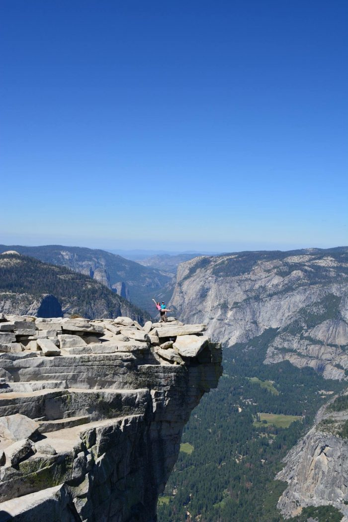 Where to Propose in On top of Half Dome in Yosemite National Park