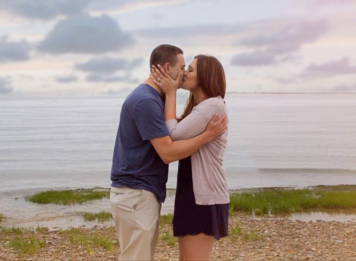 Briana and Eric's Engagement in Plymouth Ma