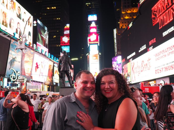 Engagement Proposal Ideas in Times Square NYC