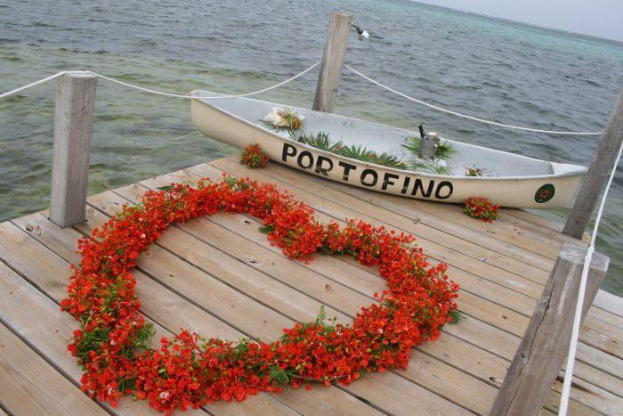 Kelley's Proposal in Portofino Resort, Ambergris Caye, Belize