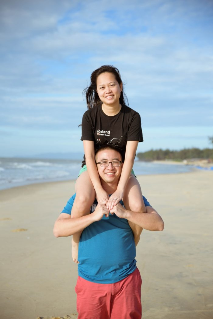 Image 1 of Nicholas and Thanh