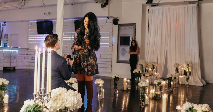 Marriage Proposal Ideas in Staten Island, NY at Eve Ultra Lounge