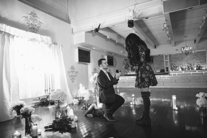 Gabriella and Paul's Engagement in Staten Island, NY at Eve Ultra Lounge