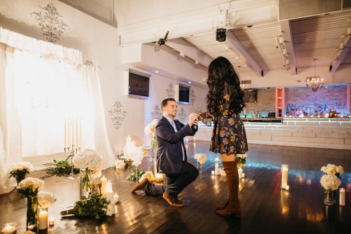 Wedding Proposal Ideas in Staten Island, NY at Eve Ultra Lounge