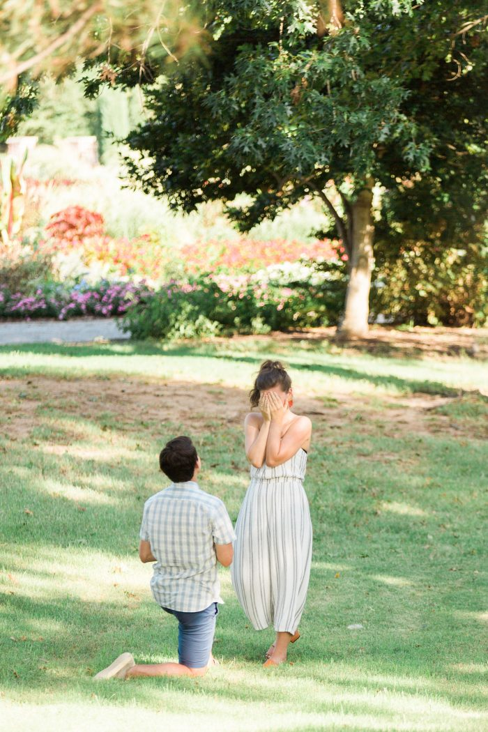 Marriage Proposal Ideas in Will Rogers Garden in Oklahoma City, OK