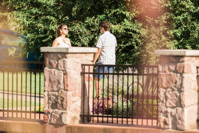 Where to Propose in Will Rogers Garden in Oklahoma City, OK