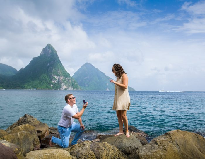 Where to Propose in St. Lucia