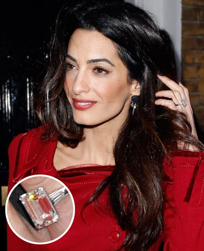 Image 27 of 75 of the Best Celebrity Engagement Rings of All Time
