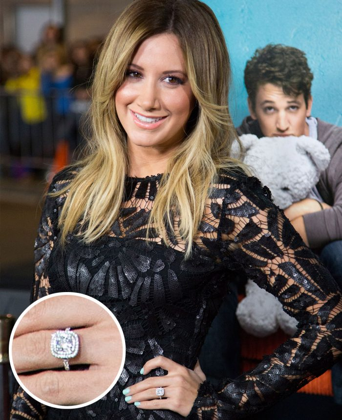 Ashley Tisdale Engagement Ring