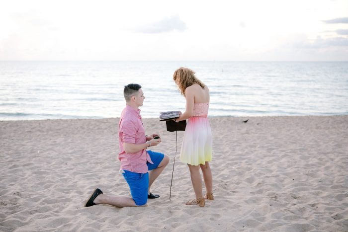 Sidney Marie and Joshua's Engagement in Fort Lauderdale Beach